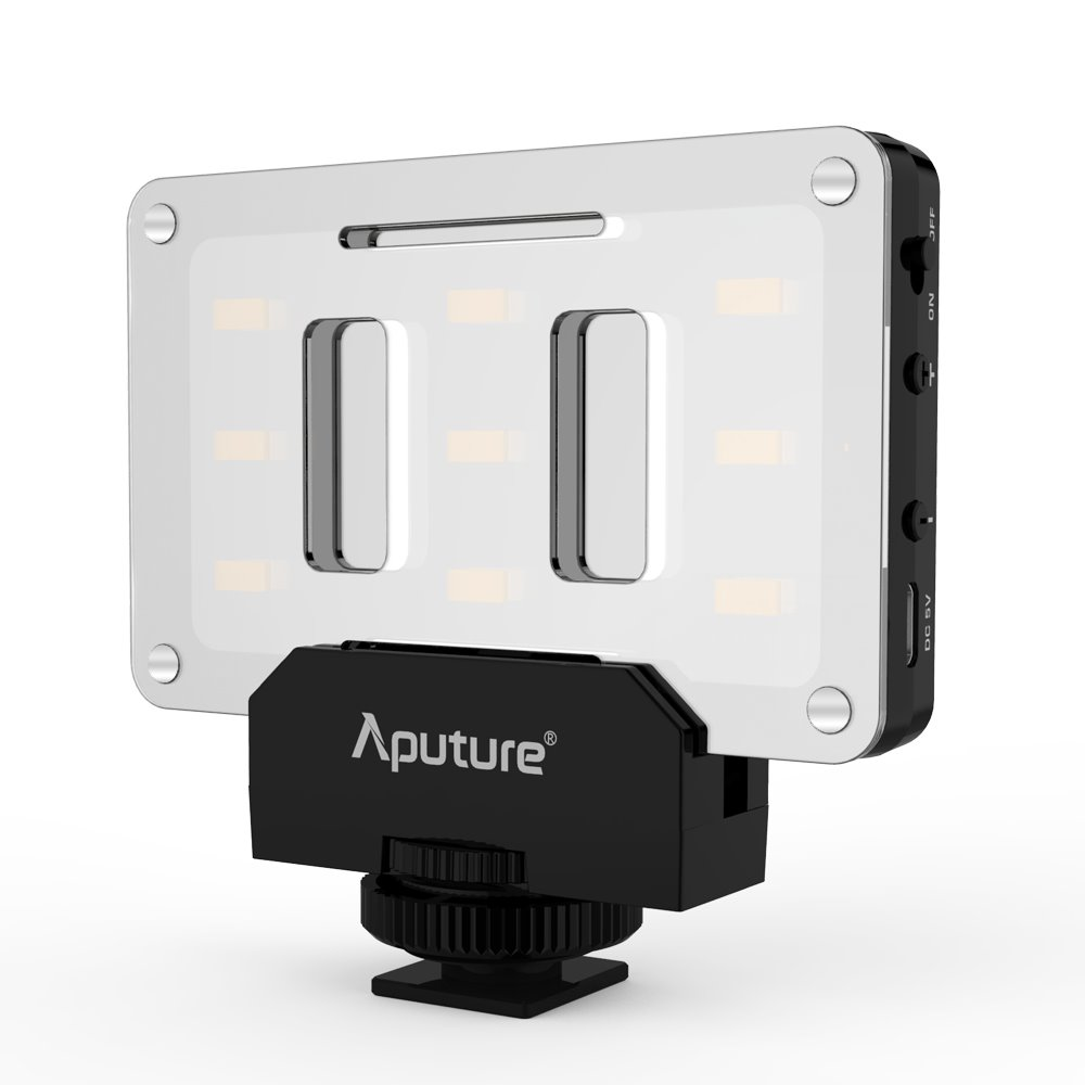 Aputure Amaran AL-M9 - LED video světlo (9 SMD, 5500 K) CRI 95+