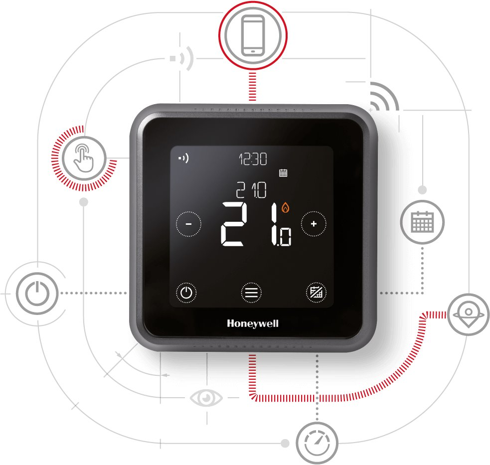 Honeywell Lyric T6 Smart Termostat Drátový Y6H810WF1034